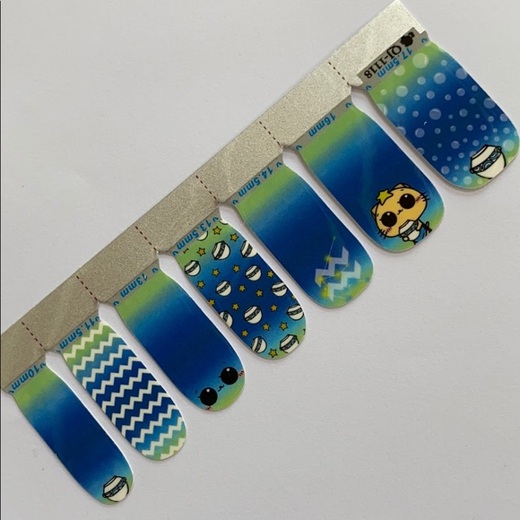 3 for $12 Nail stickers wraps decals